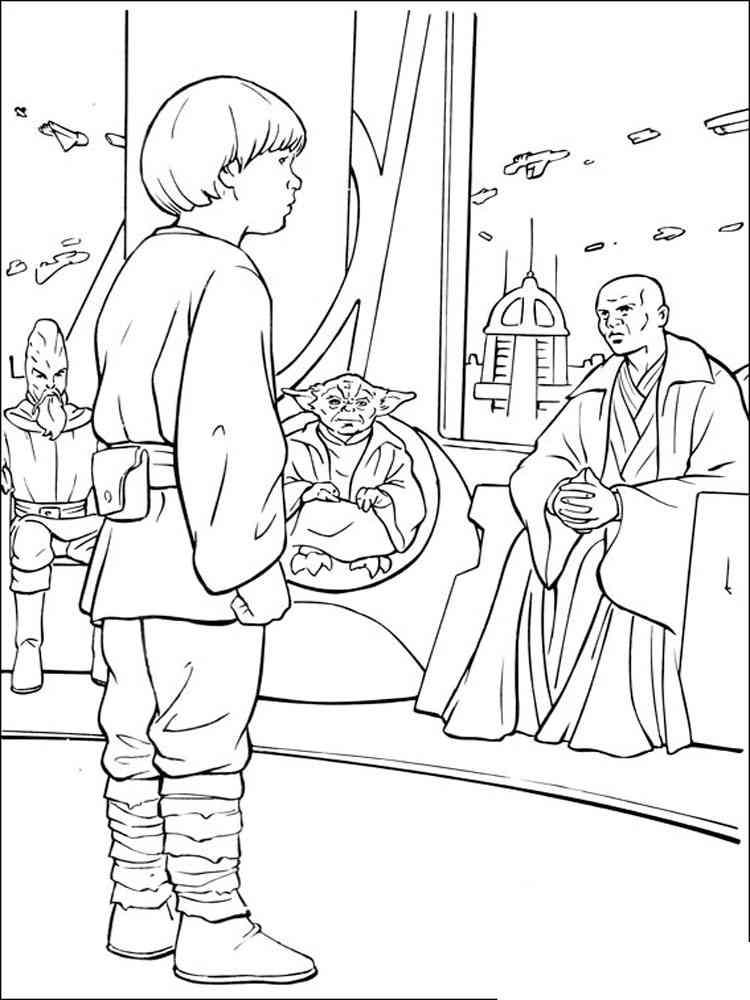 Ausmalbilder Star Wars - Malvorlagen Kostenlos zum Ausdrucken