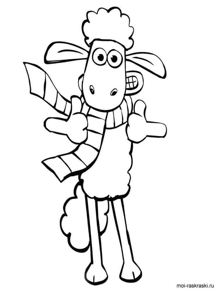 Ausmalbilder Shaun das Schaf - Malvorlagen Kostenlos zum