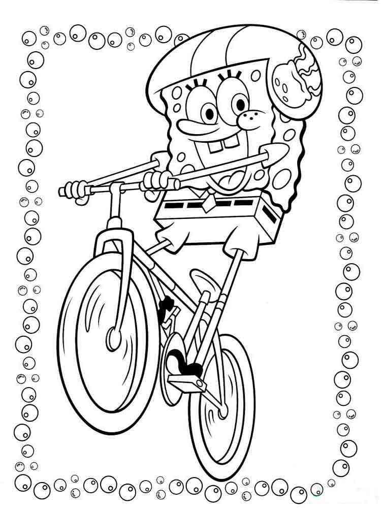 Ausmalbilder SpongeBob Schwammkopf - Malvorlagen Kostenlos