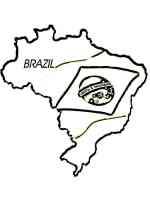 Ausmalbilder Brasilien   Malvorlagen Kostenlos zum Ausdrucken