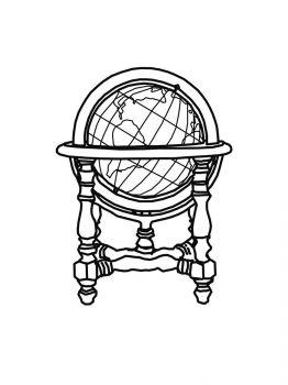 Ausmalbilder Globus - Malvorlagen Kostenlos zum Ausdrucken