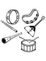 Malvorlagen Musikinstrumente   Ausmalbilder Kostenlos zum ...