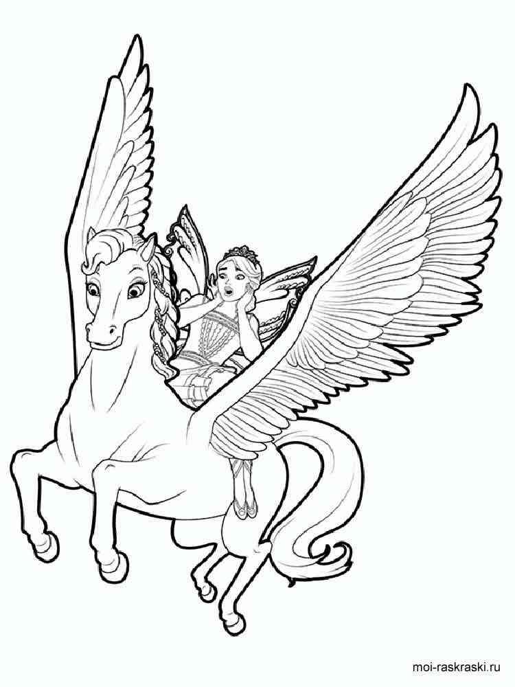 Pegasus Malvorlagen Zum Ausdrucken