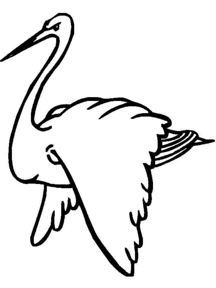 Ausmalbilder Storch - Malvorlagen Kostenlos zum Ausdrucken