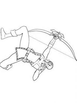 Ausmalbilder Hawkeye - Malvorlagen Kostenlos zum Ausdrucken