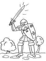 Ausmalbilder Ritter   Malvorlagen Kostenlos zum Ausdrucken