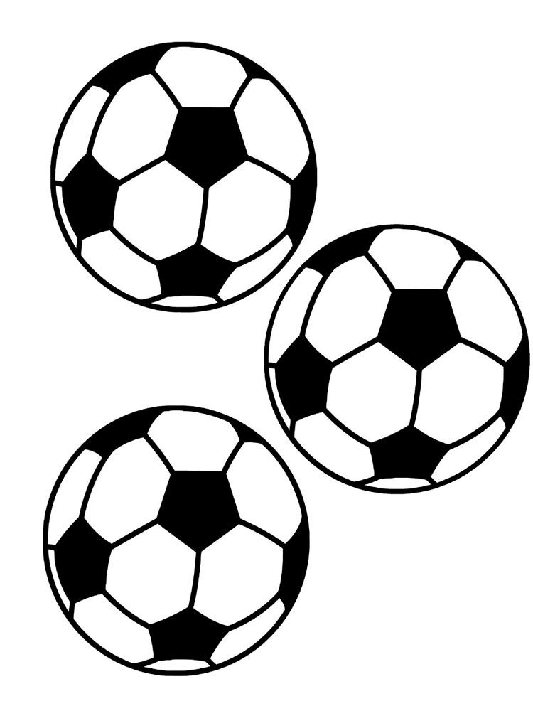 Free Printable Soccer Ball Coloring Pages For Boys