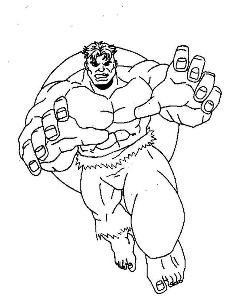 Ausmalbilder Superhelden - Malvorlagen Kostenlos zum