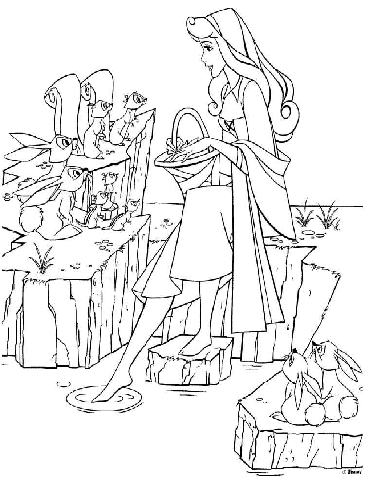 Ausmalbilder Maleficent - Malvorlagen Kostenlos zum Ausdrucken
