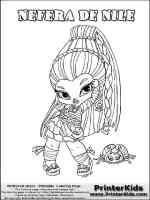 Ausmalbilder Baby Monster High   Malvorlagen Kostenlos zum ...