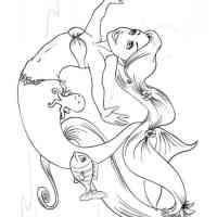 Ausmalbilder Meerjungfrauen   Malvorlagen Kostenlos zum ...