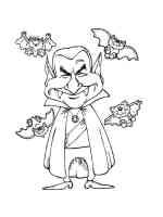 Malvorlagen Dracula   Ausmalbilder Kostenlos zum Ausdrucken