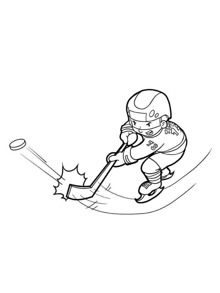 Malvorlagen Hockey