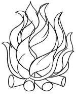 Malvorlagen Feuer   Ausmalbilder Kostenlos zum Ausdrucken