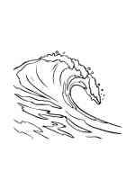Malvorlagen Wellen   Ausmalbilder Kostenlos zum Ausdrucken