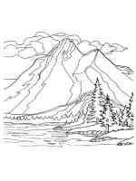 Malvorlagen Berge   Ausmalbilder Kostenlos zum Ausdrucken