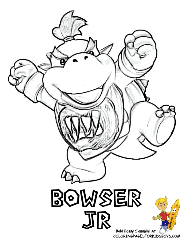 Koopalings Coloring Pages : koopalings, coloring, pages, Koopalings, Coloring, Pages, GetDrawings, Download