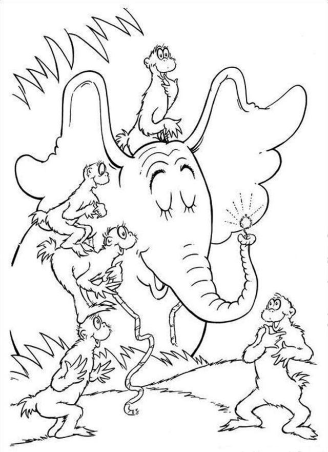 Dr Suess Coloring Pages To Download And Print For Free - Coloring Home
