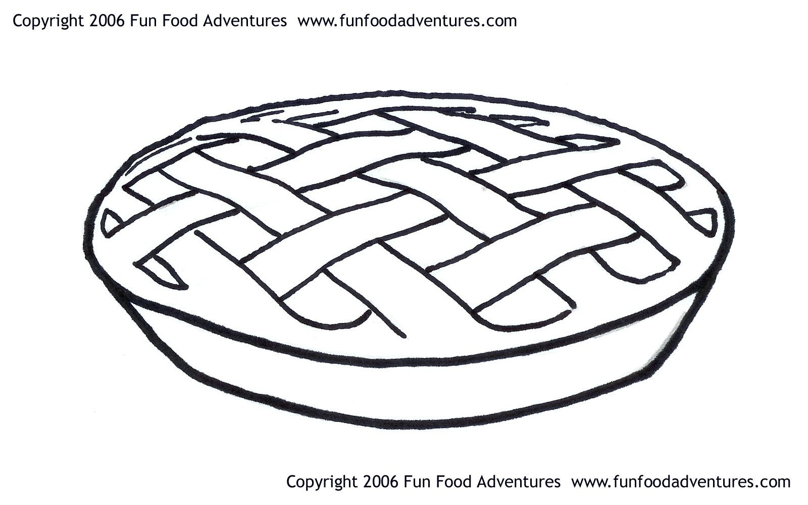 Apple Pie Coloring Pages Coloring Home