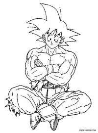 Super Saiyan Goku Coloring Pages