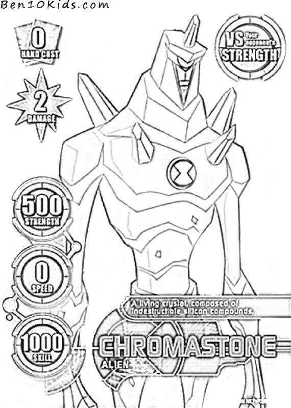 Chromastone Coloring Pages  Coloring Home