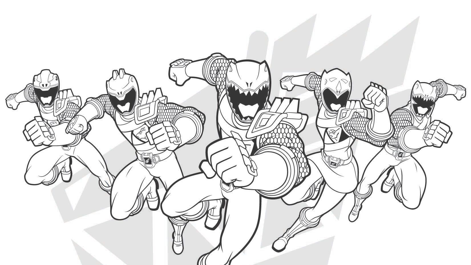 Tommy Green Mighty Morphin Power Ranger Coloring Pages