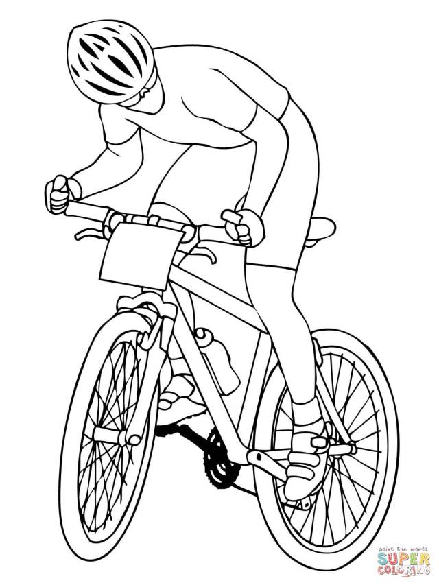 Cycling Coloring Pages  Free Coloring Pages - Coloring Home