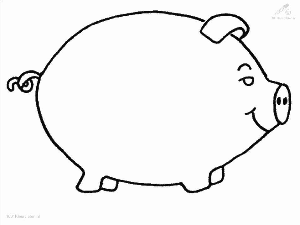 Coloring Pages Of Pig Coloring Home