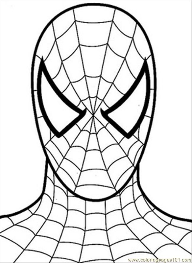 Printable Spiderman Coloring Pages, Easy and Fun