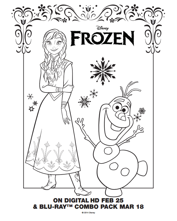 Mewarnai Gambar Elsa Frozen 2 | Mewarnai cerita terbaru ...