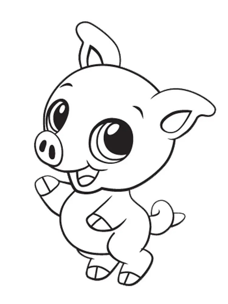 Of Cute Baby Animals - Coloring Pages For Kids And For ... | coloring pages cute baby animals