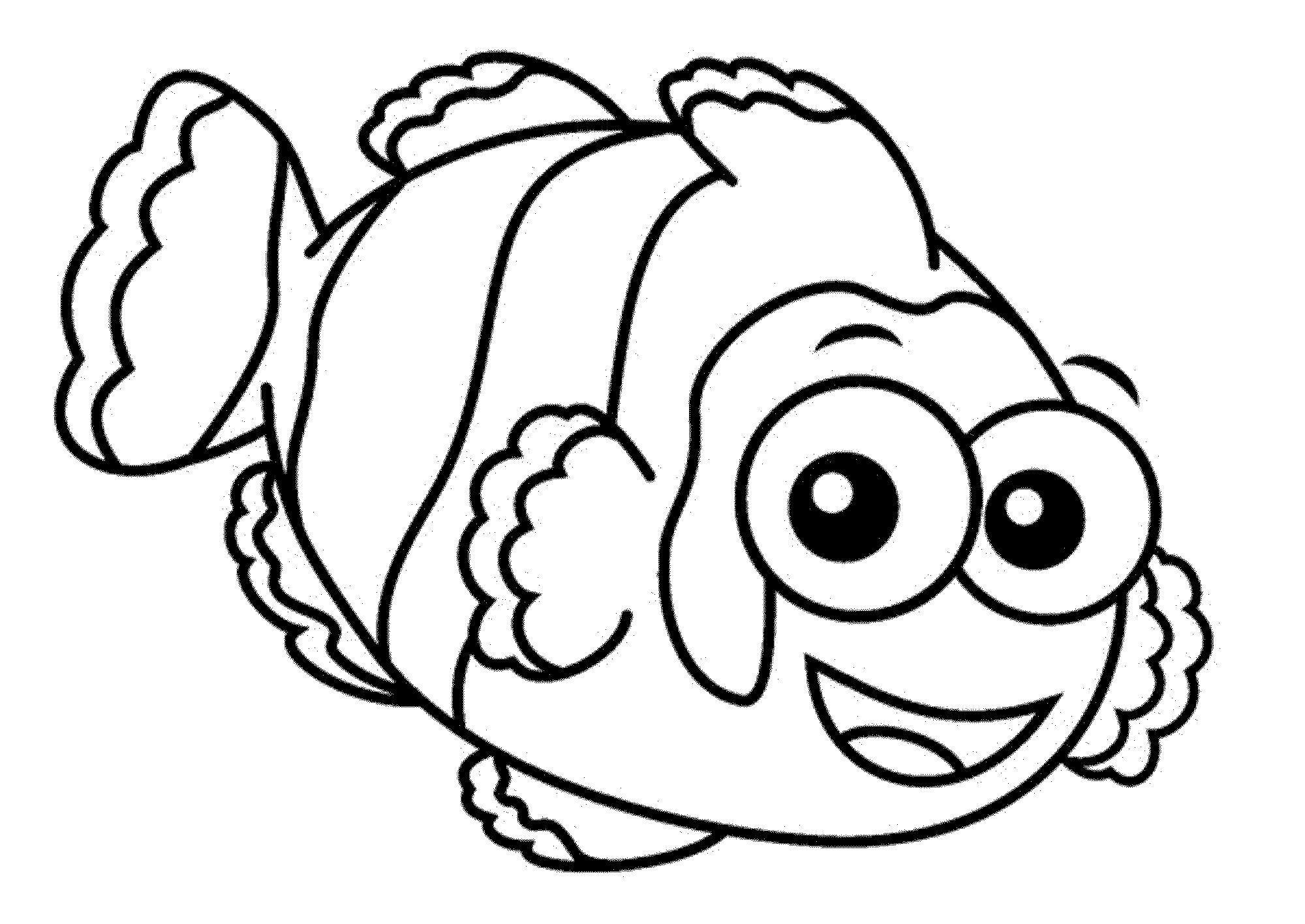 One Fish Two Fish Coloring Pages
