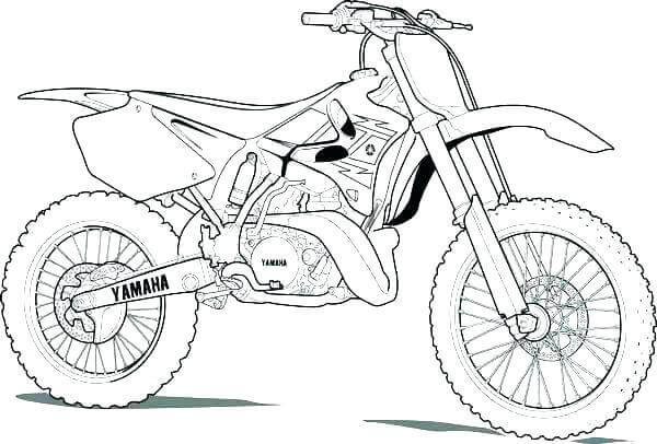 Free Printable Dirt Bike Coloring Pages Coloring Junction Coloring Home
