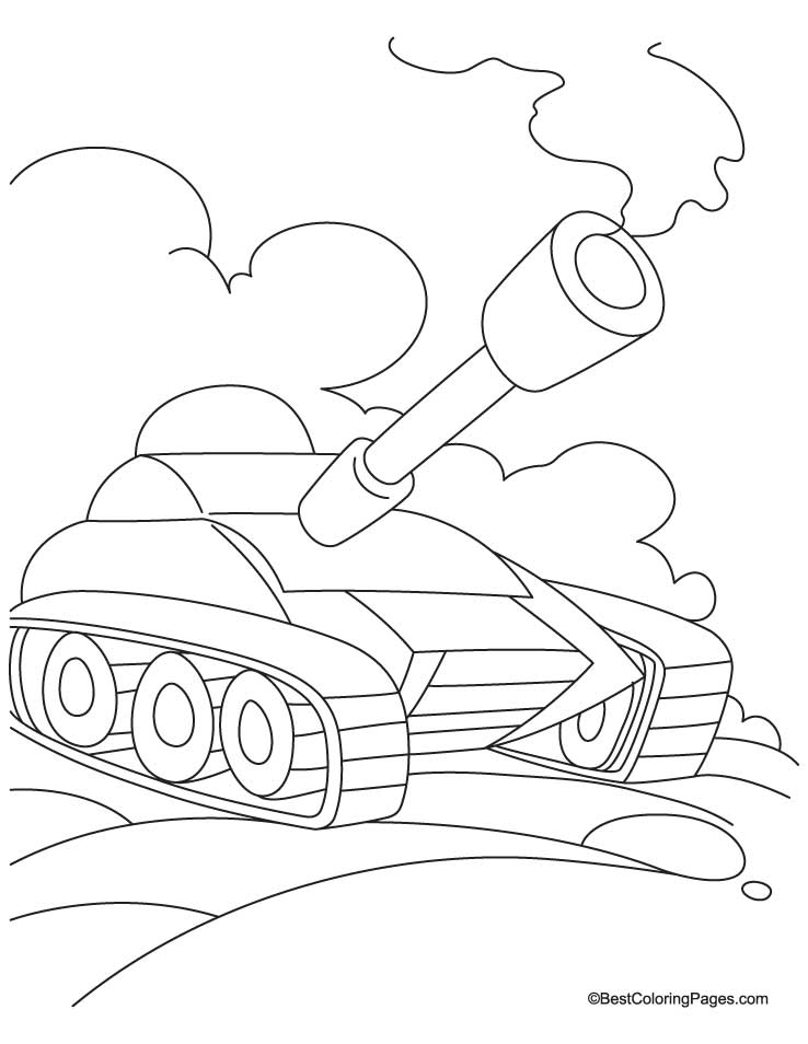 Tanks Coloring Pages : tanks, coloring, pages, Tanks, Coloring, Pages