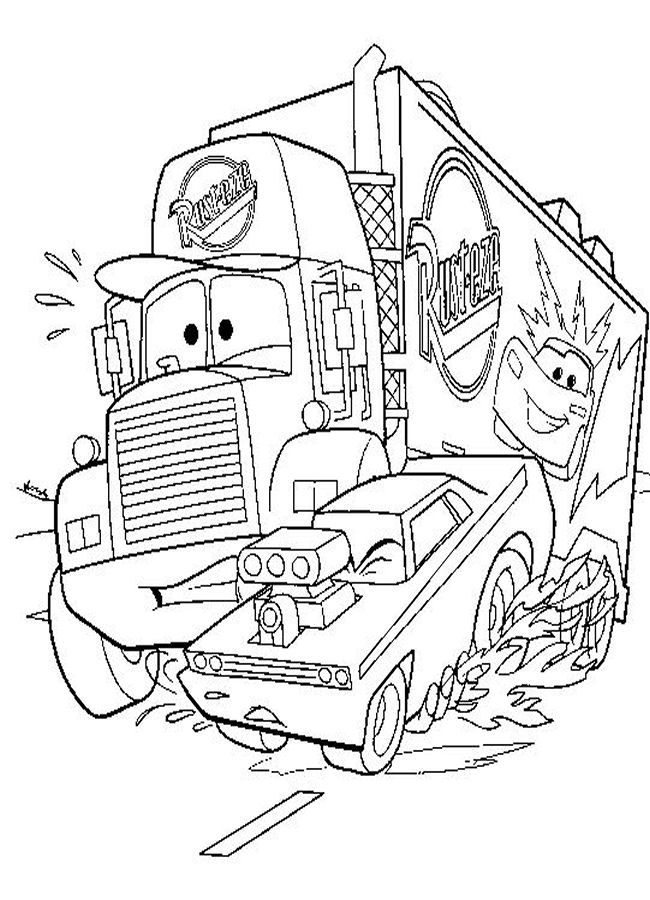 Disney Cars Printable Coloring Pages : disney, printable, coloring, pages, Disney, Coloring, Pages, Printable
