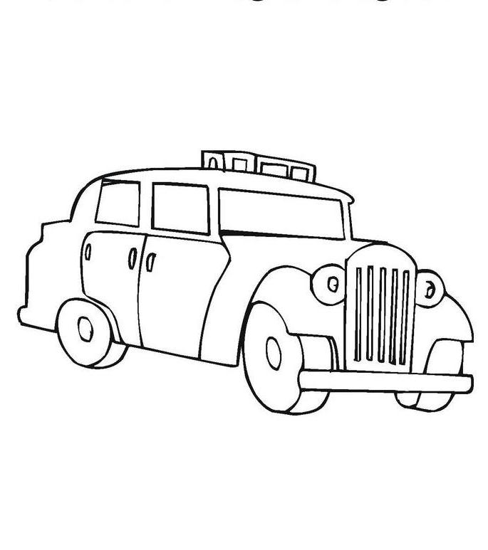 Download Dodge Charger Police Car Coloring Page Or Print