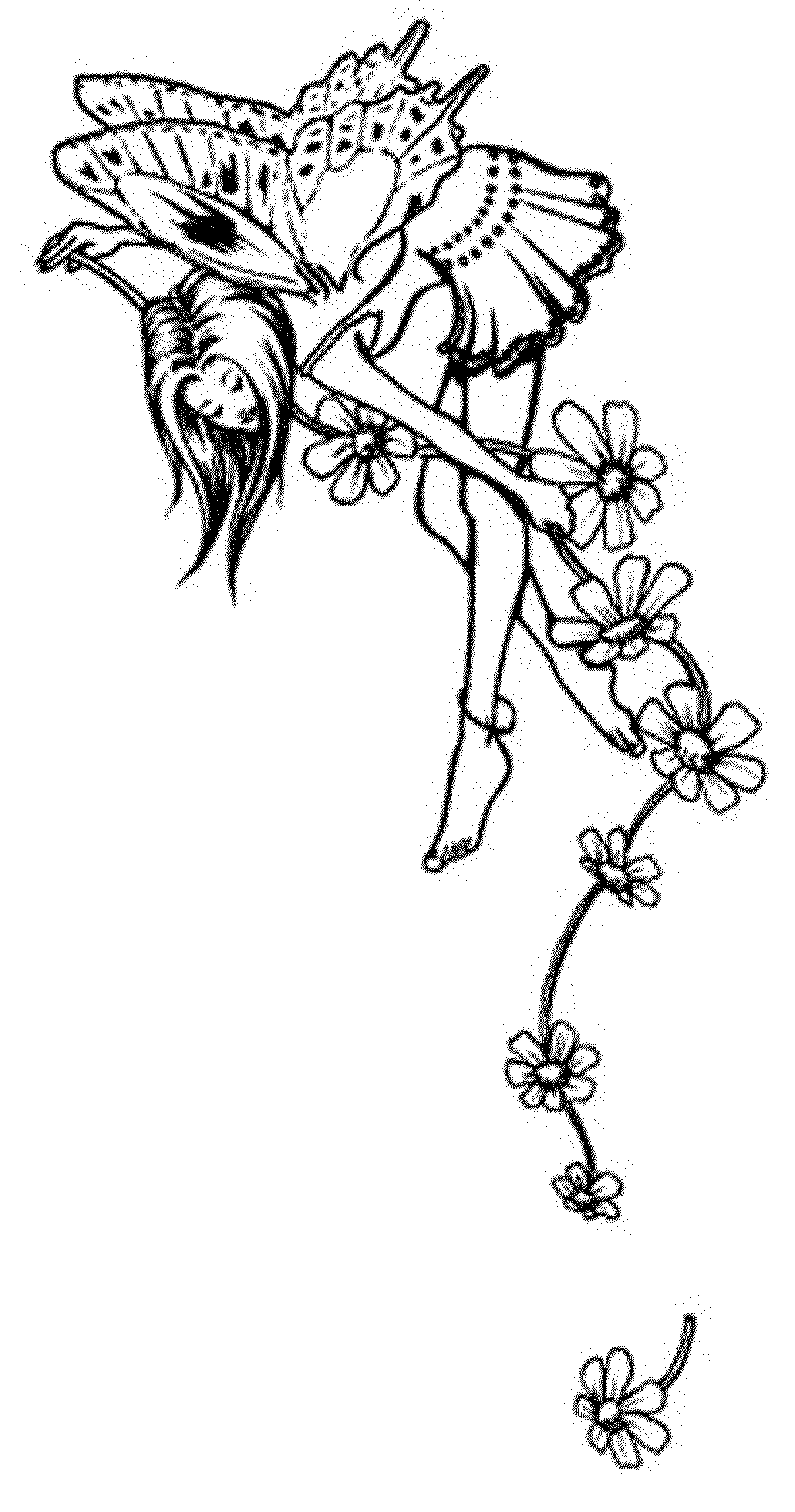 Fairy Coloring Pages For Adults Printable Kids Colouring Pages Coloring Home