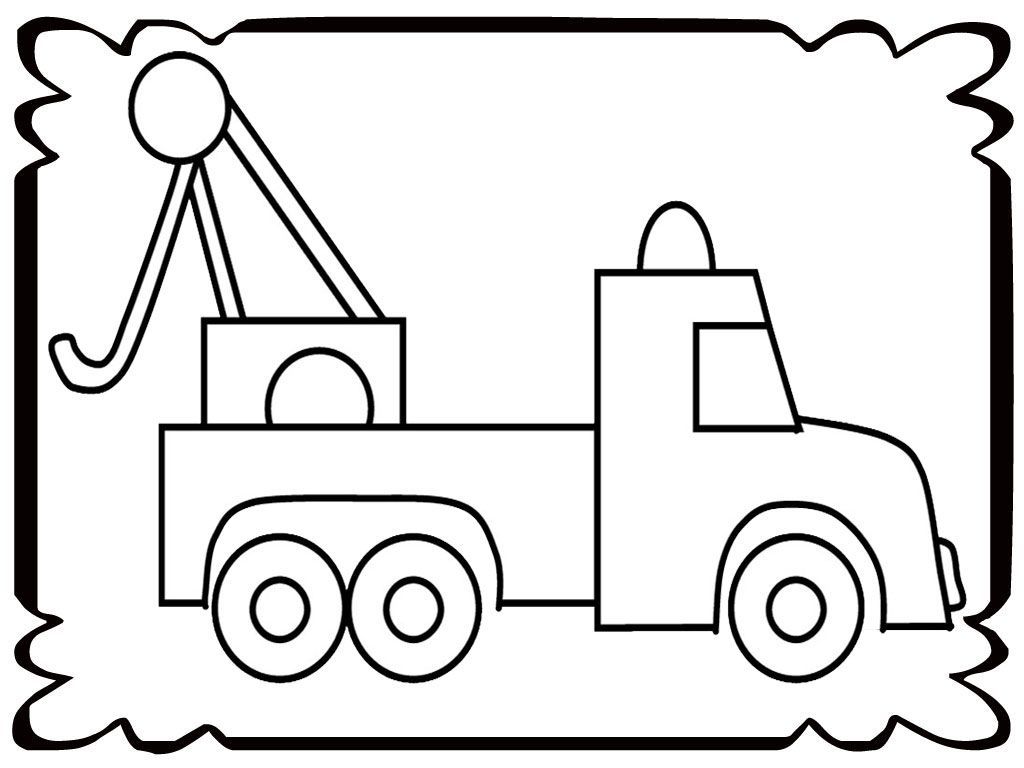 Simple Microscope Coloring Pages