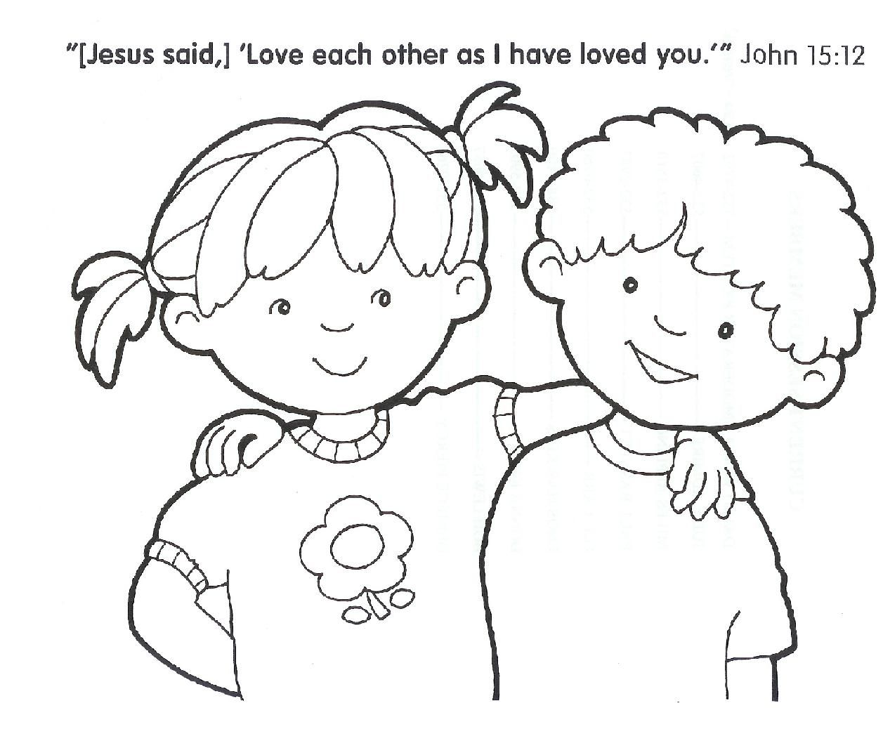 Christian Coloring Pages For November