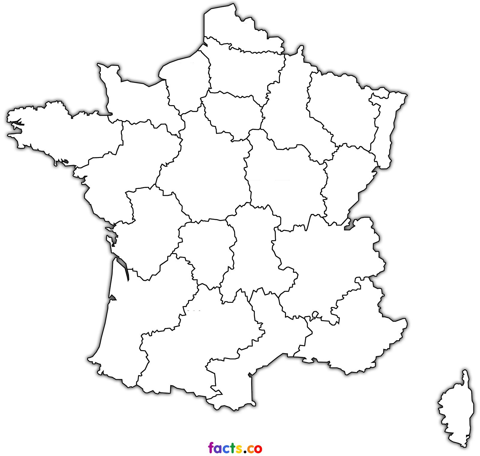 France Map Outline