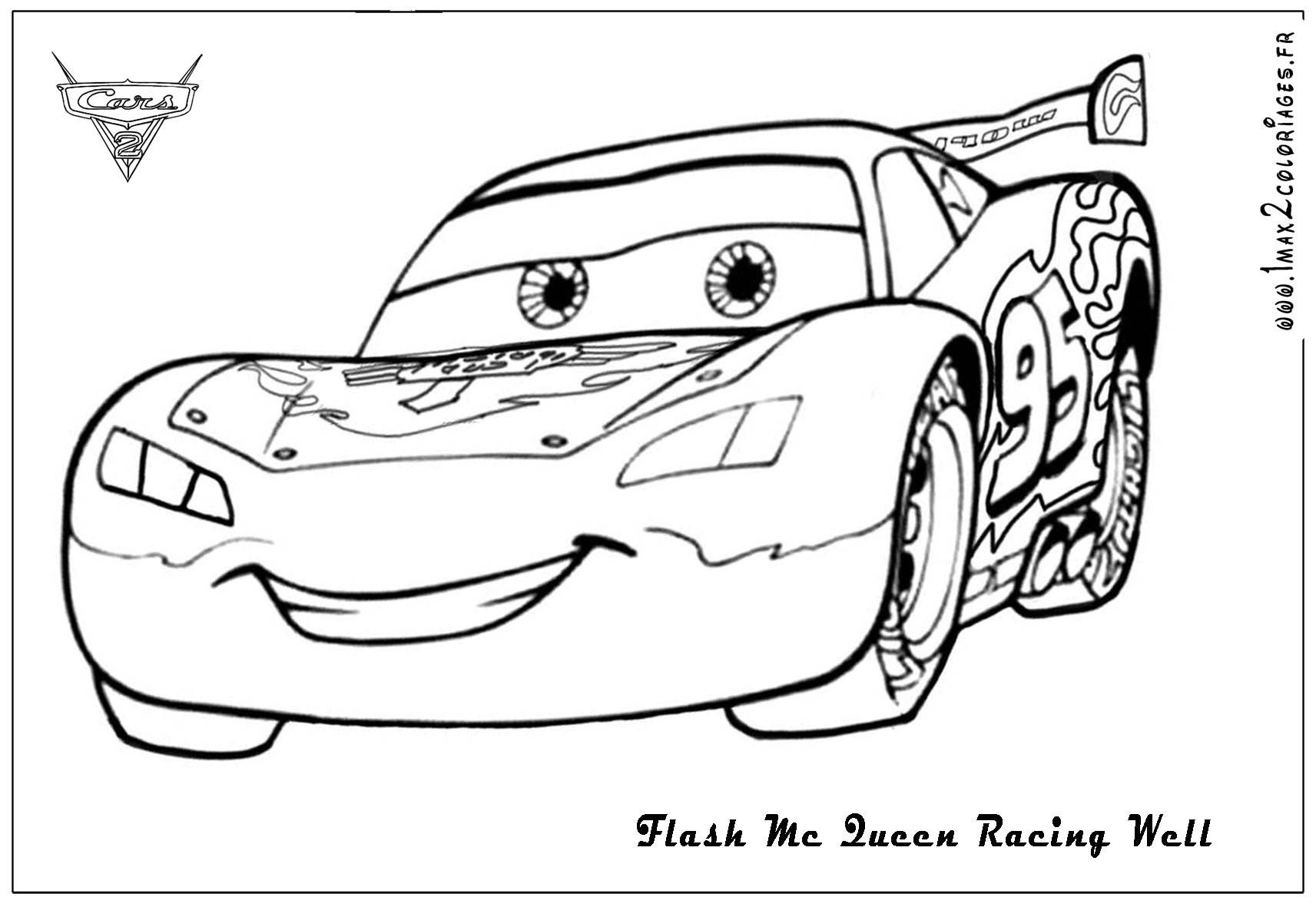 Cars 2 Color Pages Free High Quality Coloring Pages Coloring Home
