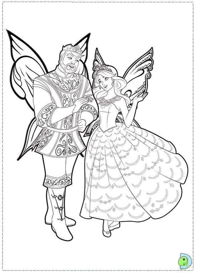 Barbie Fairytopia Mermaidia Coloring Pages Bltidm