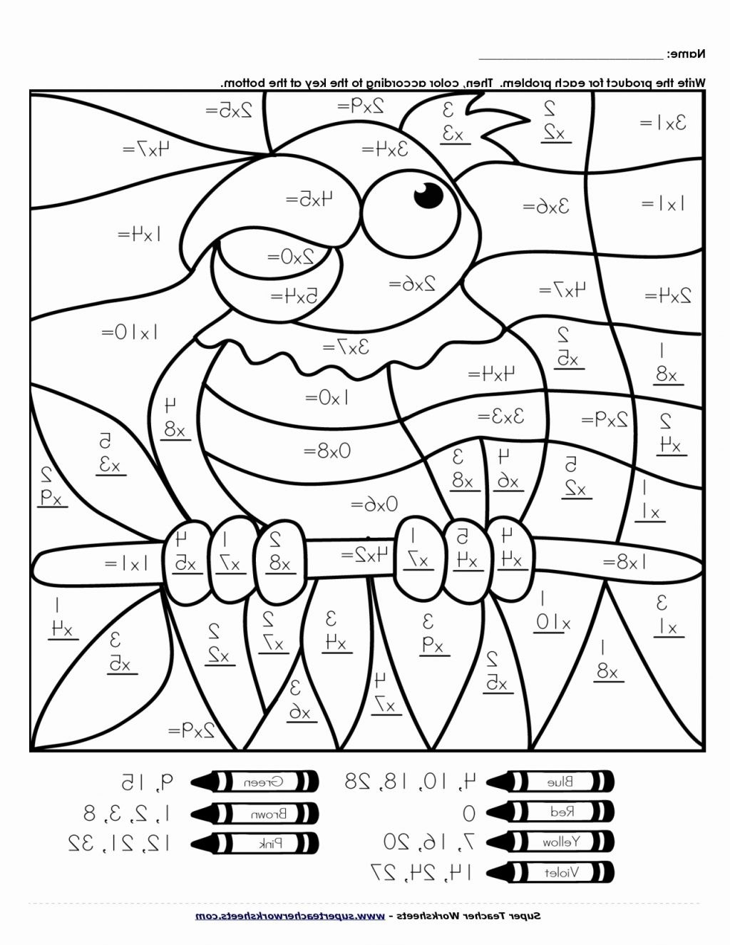 hight resolution of Math Sheets Coloring Pages - Coloring Home