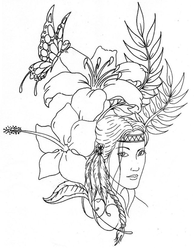Native American Designs Coloring Pages Printables - Coloring Home