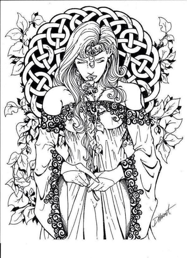 pagan coloring pages # 5