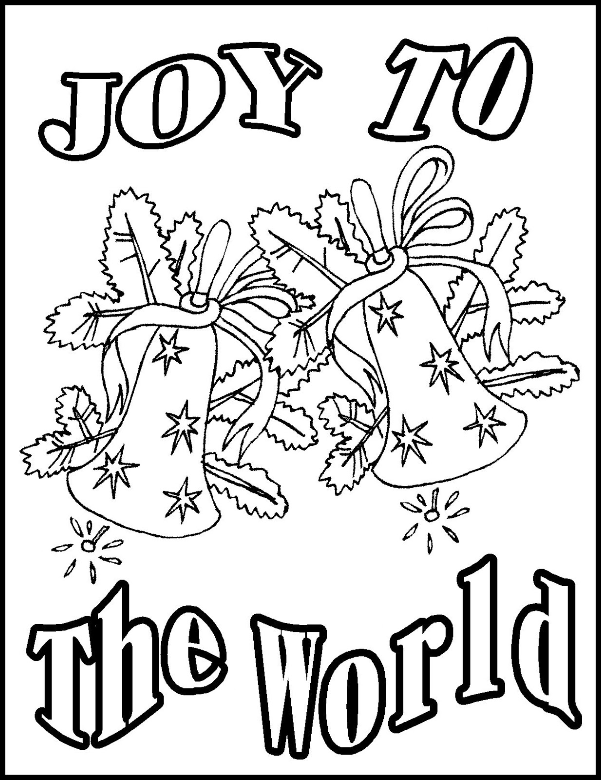 Religious Christmas Coloring Pages For Kids