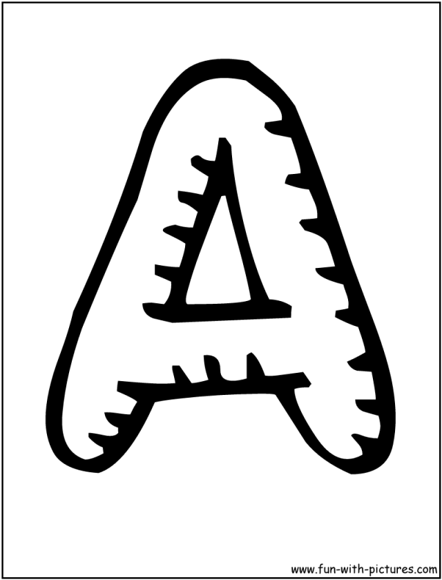 Bubble Letters Coloring Pages Coloring Home