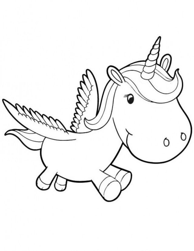 Gambar Unicorn Mewarnai : gambar, unicorn, mewarnai, Unicorn, Coloring, Pages, Colouring, 261876