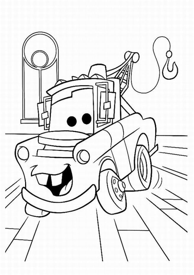 Disney Cars Printable Coloring Pages : disney, printable, coloring, pages, Coloring, Pages