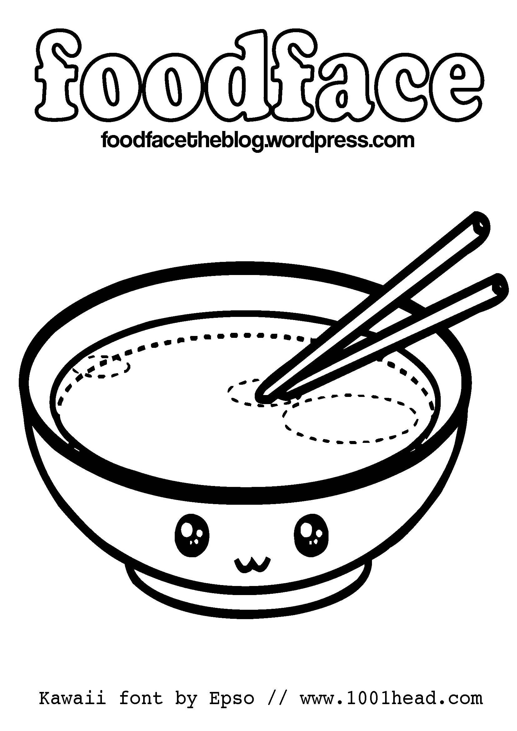 Kawaii Coloring Pages Food : kawaii, coloring, pages, Kawaii, Coloring, Pages